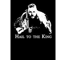 Ragnar : Hail to the King Photographic Print