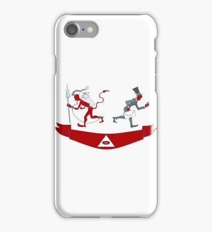 Corporate Krampus iPhone Case/Skin