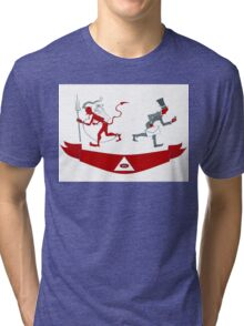 Corporate Krampus Tri-blend T-Shirt
