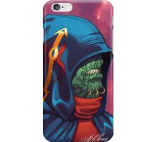 Evil Alien Diplomat Art by Al Rio iPhone Case/Skin