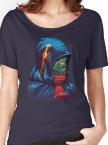 Evil Alien Diplomat Art by Al Rio Women's Relaxed Fit T-Shirt
