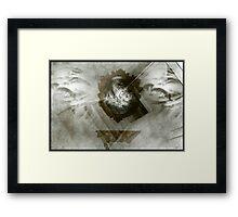 The Descent Framed Print