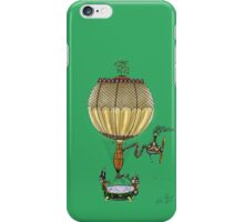 STEAMPUNK HOT AIR BALLOON iPhone Case/Skin