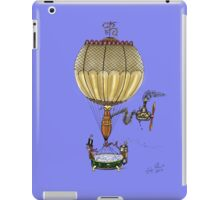 STEAMPUNK HOT AIR BALLOON iPad Case/Skin