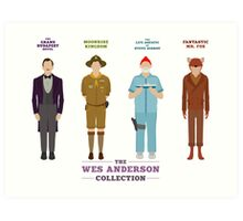 Wes Anderson Collection Art Print
