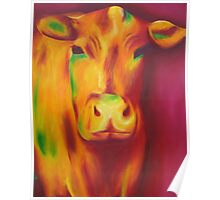 Delilah the cow. Poster