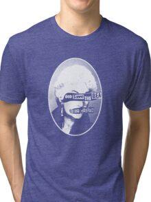 God Save the Bea (White) Tri-blend T-Shirt