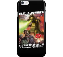 Beat it, Commies! iPhone Case/Skin