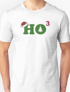 Ho Cubed Merry Christmas Unisex T-Shirt