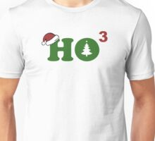 Ho Cubed Merry Christmas Unisex T-Shirt