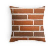 Background of brick wall texture Throw Pillow