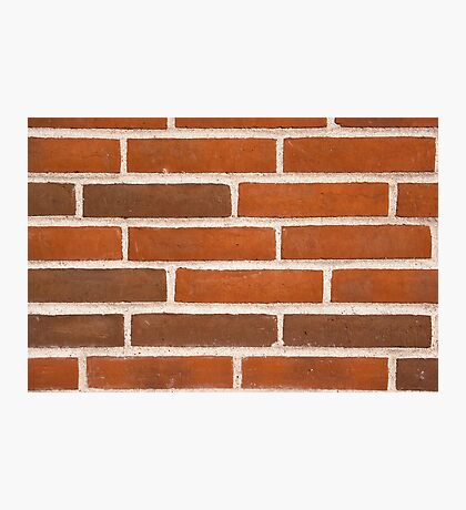 Background of brick wall texture Photographic Print
