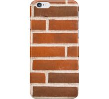 Background of brick wall texture iPhone Case/Skin
