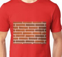 Background of brick wall texture Unisex T-Shirt