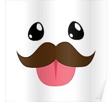 Mustache Poro Poster