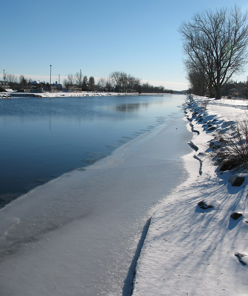 River of Ice by nikspix