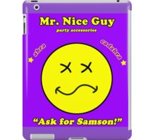 Mr. Nice Guy iPad Case/Skin