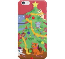 Kittens' First Christmas iPhone Case/Skin