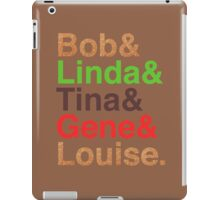 Bob's Brood (Burger Colors) iPad Case/Skin