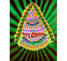 O' Christmas Tree Photographic Print