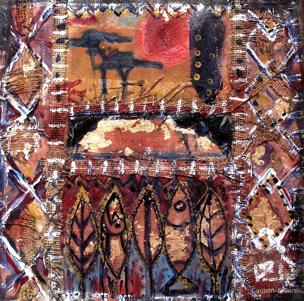 Africa In My Soul by Carmen  Cilliers