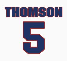 National Hockey player Jimmy Thomson jersey 5 by imsport