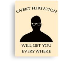 Overt Flirtation [Version 2] Canvas Print
