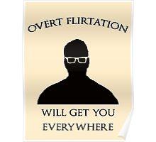 Overt Flirtation [Version 2] Poster