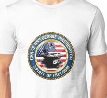CVN-73 USS George Washington Unisex T-Shirt