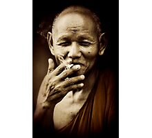 Holy smoke Photographic Print
