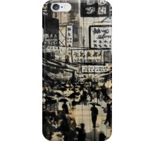 down china town iPhone Case/Skin