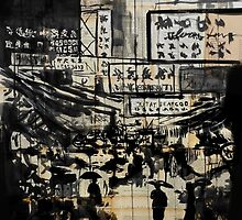 down china town by Loui  Jover
