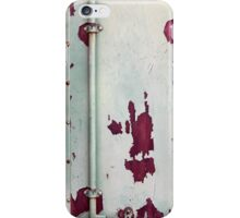 Closeup of cargo shipping containers iPhone Case/Skin