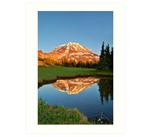 Mt. Rainier Reflections Art Print
