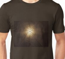 Beautiful lamps on ceiling of a church Unisex T-Shirt