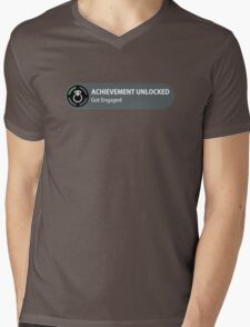 Achievement Unlocked - Got Engaged Mens V-Neck T-Shirt