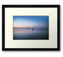 A lazy Retirement Framed Print