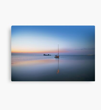 A lazy Retirement Canvas Print