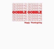 Gobble Gobble Retro Thanksgiving Unisex T-Shirt
