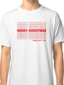 Merry Christmas Retro Holiday Classic T-Shirt