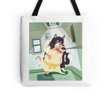 Never, ever give up! Tote Bag