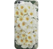 White Flowers v.2 iPhone Case/Skin