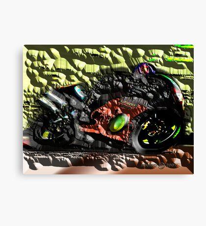 THE MALMO KIDD aka JONAS BACKSTROM Canvas Print