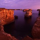 dramatic coastline by Tony Middleton