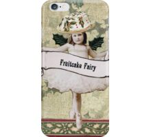 Fruitcake Fairy iPhone Case/Skin