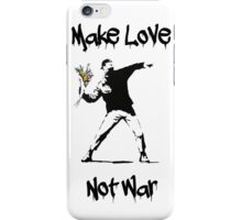 Make Love, Not War iPhone Case/Skin