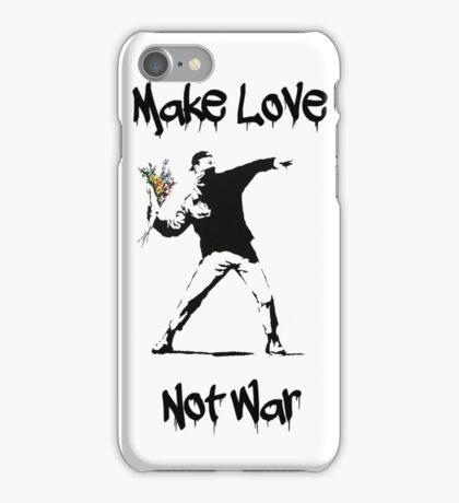 Make Love, Not War iPhone Case/Skin