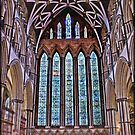 Five Sisters Window in York Minster by Philip Baines