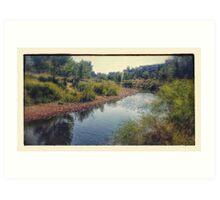 Mill River Park Art Print
