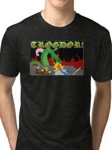 Trogdor the Burninator Tri-blend T-Shirt